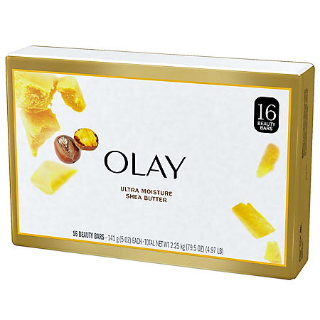 Olay Ultra Moisture with Shea Butter Beauty Bars (5 oz., 16 ct.)