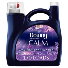 Downy Ultra Infusions Liquid Fabric Conditioner, Lavender Serenity, 170 loads, 115 fl oz