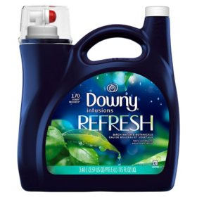 Infusions Liquid Fabric Softener, Refresh, Birch Water & Botanicals (115 fl. oz.)