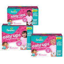 Pampers Easy Ups Training Pants for Girls (Choose Your Size)