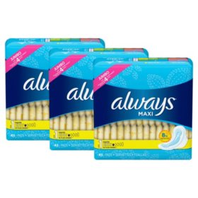 Always Maxi My Fit Regular Pads With Wings, Unscented, Size