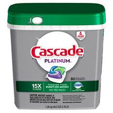 Cascade Platinum ActionPacs (80 ct.)