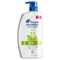Head and Shoulders Green Apple Anti-Dandruff 2 in 1 Shampoo and Conditioner (43.3 fl. oz.)