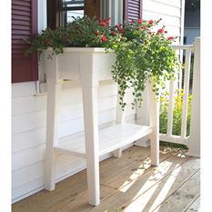 "36"" Deluxe Garden Planter - White"