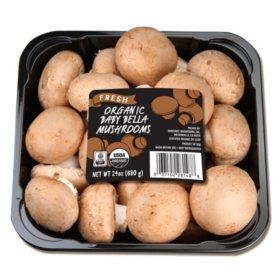 Organic Baby Bella Mushroom (24 oz.)