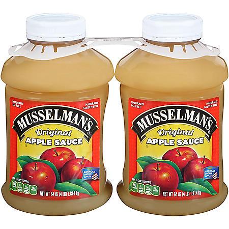 Musselman's Apple Sauce - 2/64 oz.
