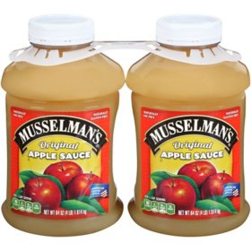 Musselman's Apple Sauce - 2/64 oz.