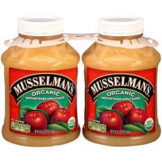 Musselman's Organic Unsweetened Apple Sauce (92 oz., 2pk.)