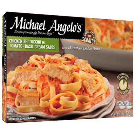 Michael Angelo's Chicken Fettuccini in Tomato-Basil Cream Sauce - 32 oz. trays - 2 pk.
