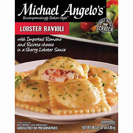 Michael Angelo's Lobster Ravioli - 30 oz.