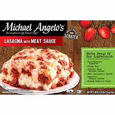 Michael Angelo's Lasagna with Meat Sauce (38 oz., 2 pk.)