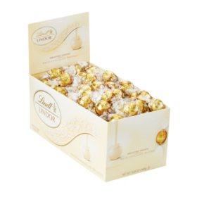 Lindt LINDOR Truffles White Chocolate (120 ct.)