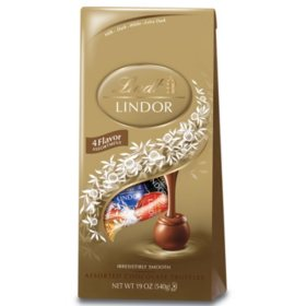 Lindt Chocolate Assorted Lindor Truffle Bag (19oz.)