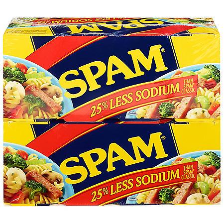 Spam Less Sodium (12 oz., 8 pk.)