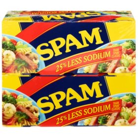 Spam Less Sodium (12 oz., 8 pk.)