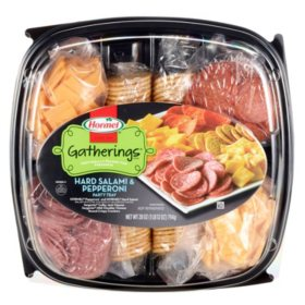 Hormel Gatherings Hard Salami and Pepperoni Party Tray (28 oz.)