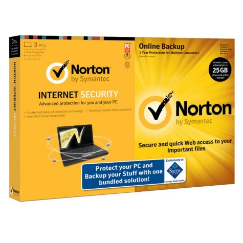 Norton Internet Security 2013 Bundle with Norton Online Backup