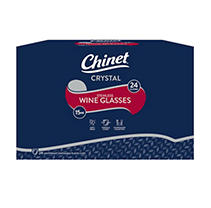 Chinet Stemless - Plastic Wine Glasses (24ct.)