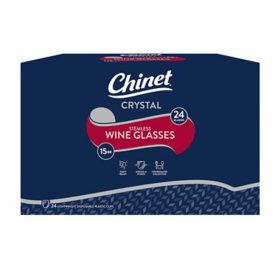 Chinet Stemless Plastic Wine Glasses (24 ct.)