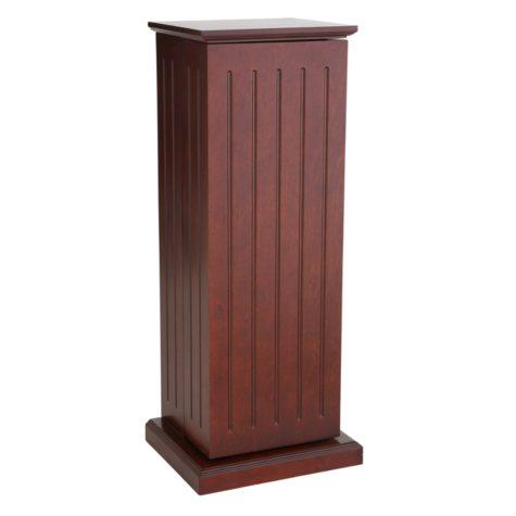 Cherry Media Storage Pedestal