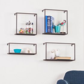 Holly & Martin Zyther 4-Piece Shelve Set