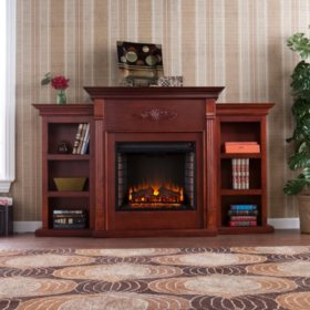 Emerson Electric Fireplace (Choose Color)