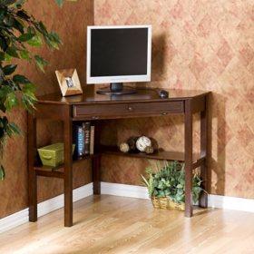 Elcli Corner Computer Desk, Assorted Colors