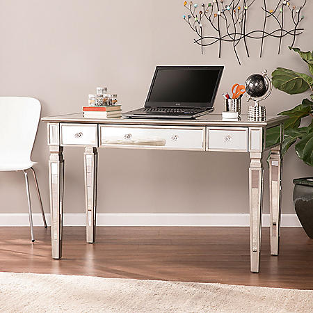 Telsgess Mirrored Writing Desk