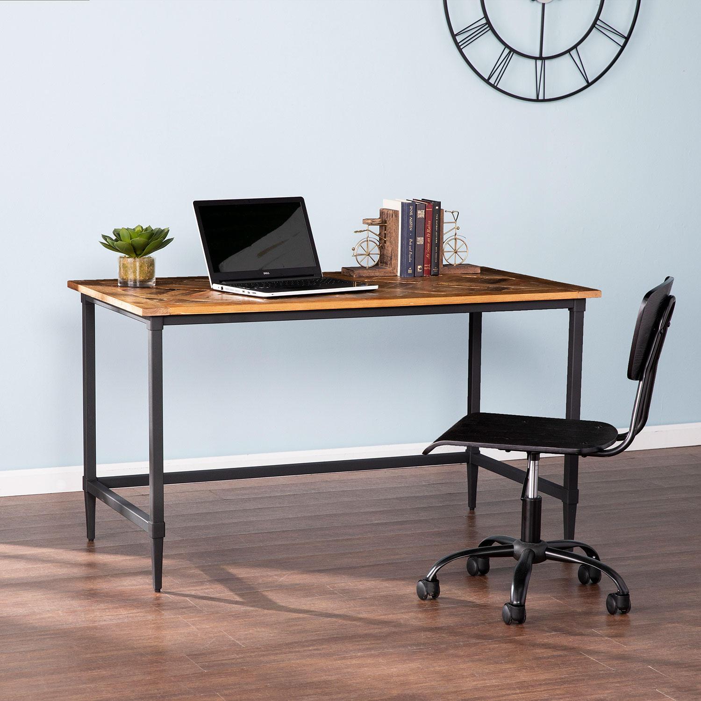 Southern Enterprises Calneba Reclaimed Wood Desk