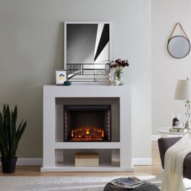 Necam Stainless Steel Fireplace