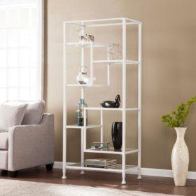 Bakerton Asymmetrical Bookcase (Assorted Colors)