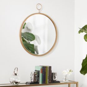 Lilac Wall Mirror, Antique Bronze