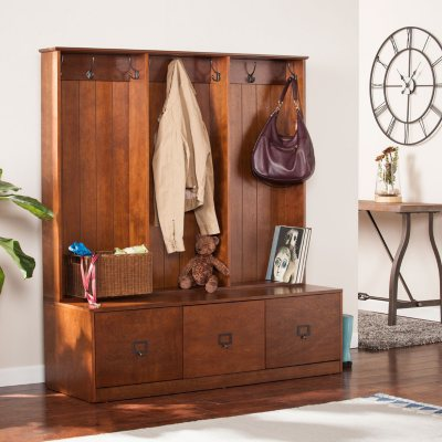 Francine Entryway Storage Unit Whiskey Maple : storage unit search  - Aquiesqueretaro.Com