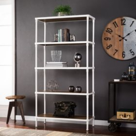 cheap for discount 8d493 bb287 Silva 5-Tier Bookcase, White - Sam's Club