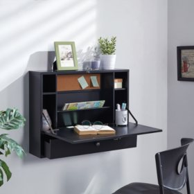 Wall Mount Laptop Desk (Assorted Colors)