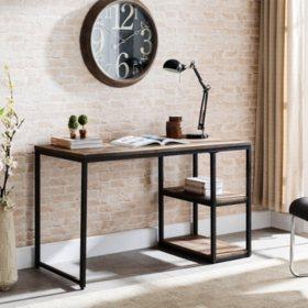 Garviston Reclaimed Wood Writing Desk
