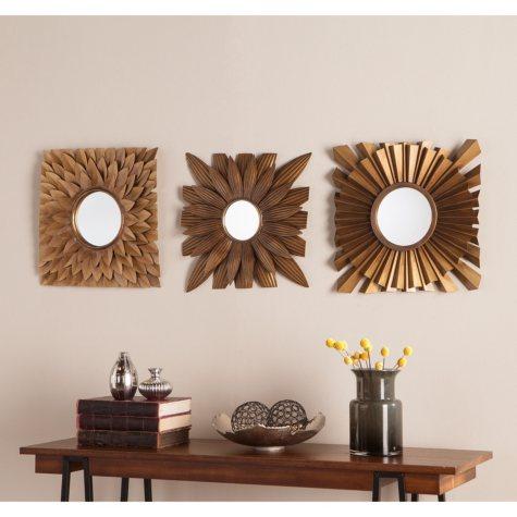 Lisa Decorative Mirrors, Set of 3