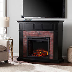 Clives Electric Fireplace Media Console