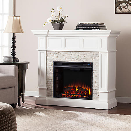 Miller Corner Convertible Electric Fireplace