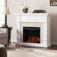 Miller Corner Convertible Electric Fireplace