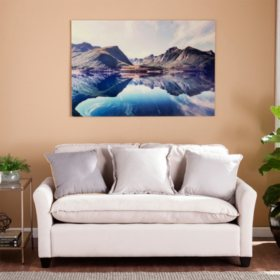 Peaceful Thoughts Floating Glass Wall Art