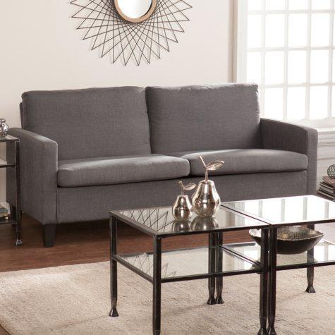 Sydney Small-Space Sofa, Gray