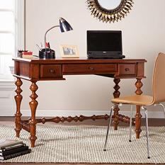 Hansleigh Turned-Leg Desk