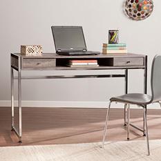 Rayview Writing Desk, Weathered Gray