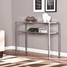 Metal/Glass Console Table