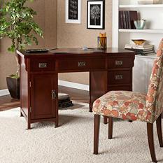 Mission Computer Desk, Cherry