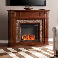 Rockford Stone Electric Fireplace