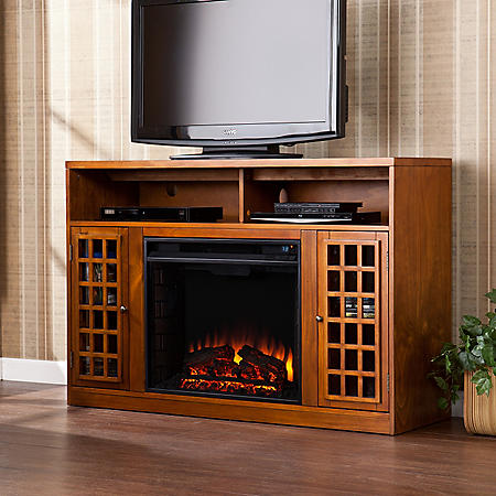 Camden Electric Fireplace Media Console