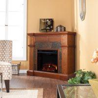 Bashard Electric Fireplace Media Console