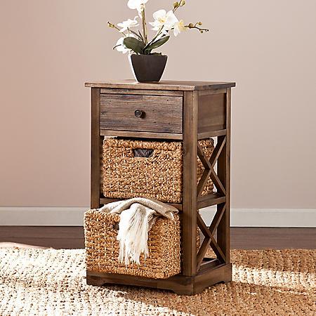 Timmons Storage Shelf with 2 Baskets